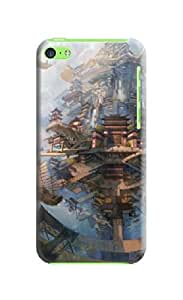 LarryToliver Products 3D Art Case for iphone 5c Cases- Retail Packaging - 3D Art Background image #6