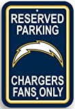 San Diego Chargers Plastic Parking Signs