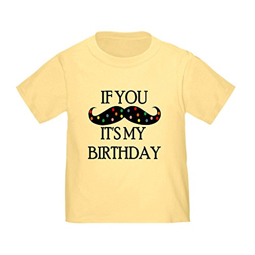 CafePress mustache birthday T Shirt Toddler