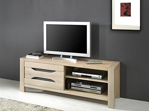 Mueble para televisor madera de roble