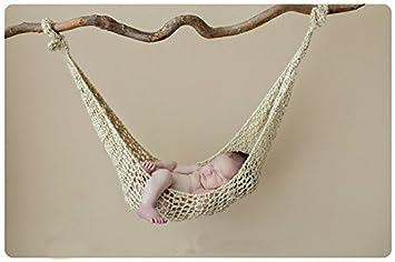 Macrame Hammock Newborn Photo Prop Deck Chair Boho Newborn Prop Newborn Hammock