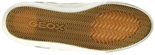 Geox D New Club A - Zapatillas de deporte Mujer Gris (C1010)