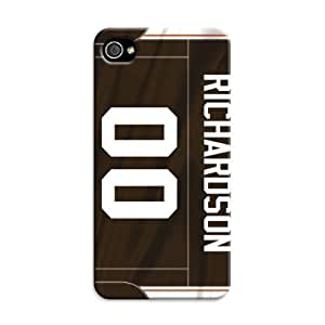 iphone 4 4s Protective Case,Fashion 3D Football iphone 4 4s Case/Cleveland Browns Designed iphone 4 4s Hard Case/diy case Hard Case Cover Skin for iphone 4 4s WANGJING JINDA