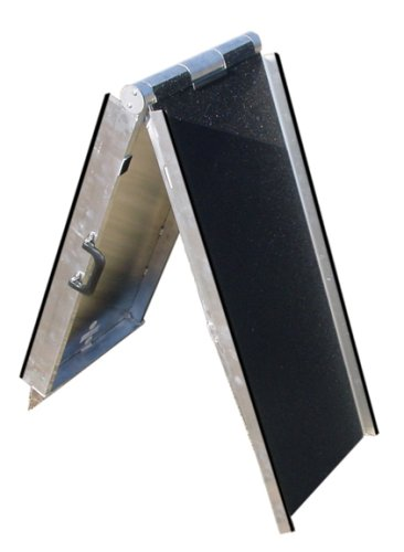 Prairie View Industries Aluminum Pet Ramp, 15'' x 6'