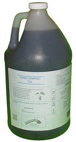 Compost Organic (Super Compost Tea, Organic Plant Food (128 Oz))