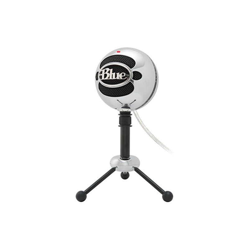 Blue Snowball USB Microphone (Brushed Al