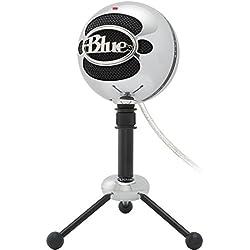 Amazon Com Blue Microphones Snowball Brushed Aluminum