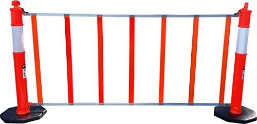 R U F Portable Pedestrian Safety Barrier, 6'6