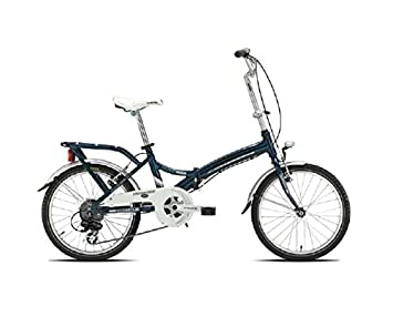 "Folding plegable Torpado bicicleta 20"" alu 6 V azul (plegables)/bicycle foldable"