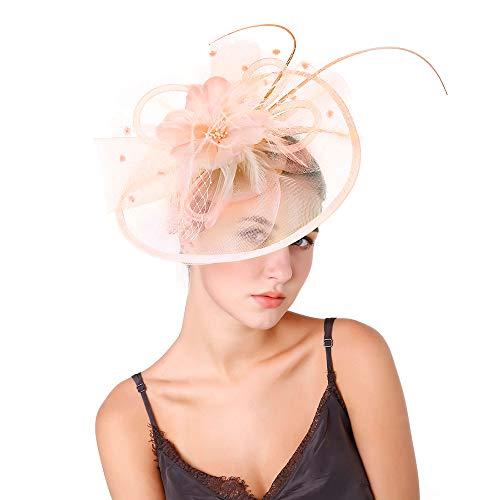 Fascinators Hat for Women Mesh Hair Clip Kentucky