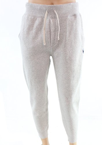 Polo Ralph Lauren Cotton-Blend-Fleece Pants (Medium, Light Grey Heather)