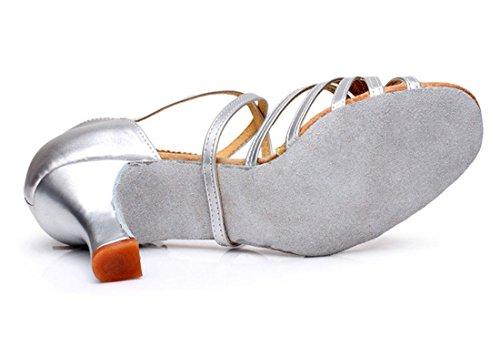 TDA - Zapatos con tacón mujer 7cm Silver