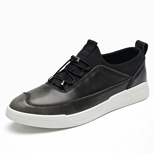 引っ張る歌荷物[XINXIKEJI]メンズデッキシューズ 通気 軽量 クッション性 スリッポン カジュアル ウォーキング 履き心地よい 歩きやすい 紳士靴  レッド ブラック ブラウン