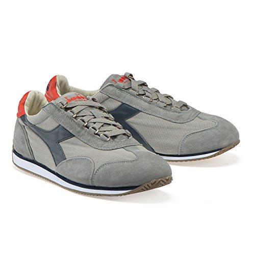 Donna 12 Stone Sneakers Profondo Uomo E Equipe Diadora Pioggia blu Heritage Grigio C4828 Per Wash nqH4XtzAx