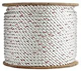 SGT KNOTS 3-Strand Twisted PolyDac / Combo Rope Several Sizes & Lengths (3/8''x600')