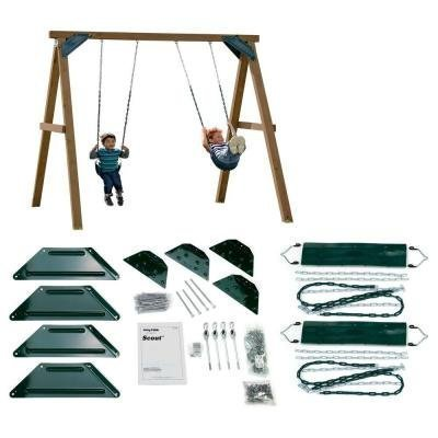 Swing-N-Slide Playsets Do-It-Yourself One-Hour Custom Play Swing Set