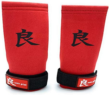 RoninGrips Red Dragon sin Dedos r/ápidas transiciones Calleras Crossfit