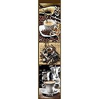 Küchenplaner Kaffee 2020 - Streifenkalender (11 x 50) - Kaffeekalender - Streifenplaner - mit leckeren Rezepten - Wandplaner - Küchenkalender