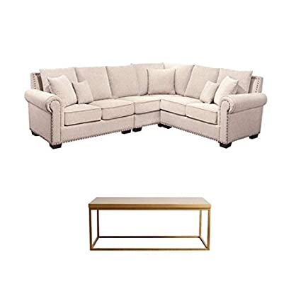 Awe Inspiring Amazon Com Abbyson Living Set Of 2 Sectional Sofa And Gmtry Best Dining Table And Chair Ideas Images Gmtryco