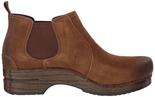 Suede Brown Burnished Dansko Frankie Womens xn6qYga