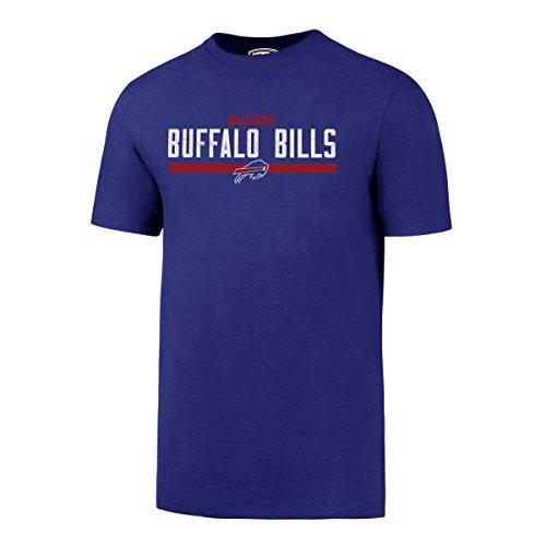 (NFL Buffalo Bills Men's OTS Rival Tee, Distressed Twin Rivers, Large)