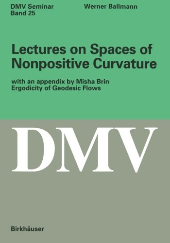 Lectures on Spaces of Nonpositive Curvature (Oberwolfach Seminars)