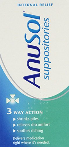 Anusol Suppositories (24) (Best Hemorrhoid Cream Uk)