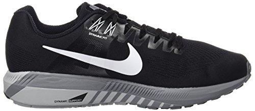 White Nero Air Grey Wolf Nike Structure Cool 001 Zoom Uomo Running Scarpe Black 21 Grey qZfx0fSwz