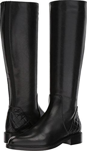 Aquatalia Women's Geneva Black Calf/Elastic 6 B US