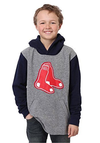 - Red Sox Beginnings Pullover Hooded Youth Sweatshirt - XL