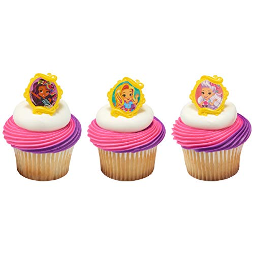 Sunny Day Inspired Cupcake Rings Party Favors 24 - Day Cupcake
