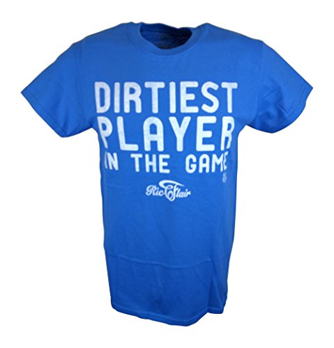 Ric Flair Dirtiest Player In The Game WWE Mens T-shirt-XXL by WWE