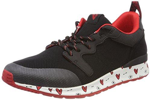 ALDO Greiman, Sneakers Basses Homme Noir (Jet Black 3 Vday)