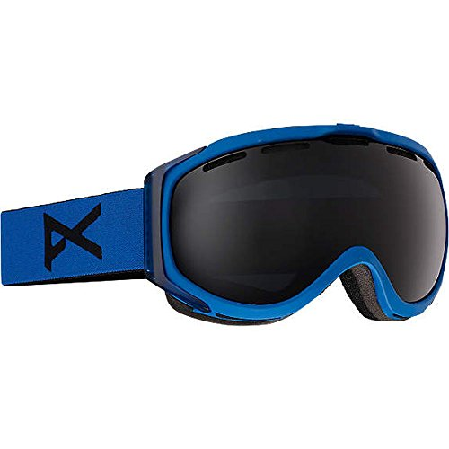 Anon Hawkeye Snow Goggles Blue with Dark Smoke Lens Anon Hawkeye Snow Goggles