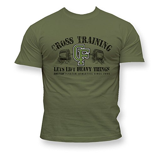 Dirty Ray Cross Training Herren Men's T-Shirt DT18