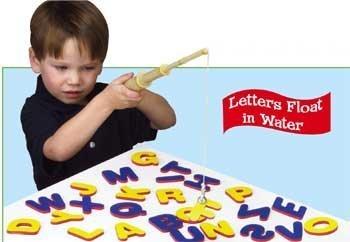 A-B-C Magnetic Fishing Set For Kids