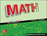 Glencoe Math 2016, Course 2 Teacher Edition, Volume 1 ISBN-10: 0076683214 ISBN-13: 9780076683215