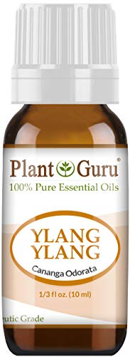 (Ylang Ylang Essential Oil 10 ml 100% Pure Undiluted Therapeutic Grade.)