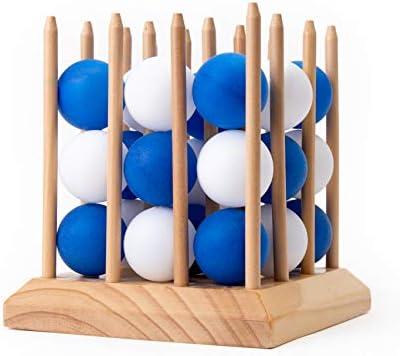 JumpOff Jo Spring Pong Juego de Mesa 3D de Velocidad, precisión y Estrategia: Amazon.es: Juguetes y juegos
