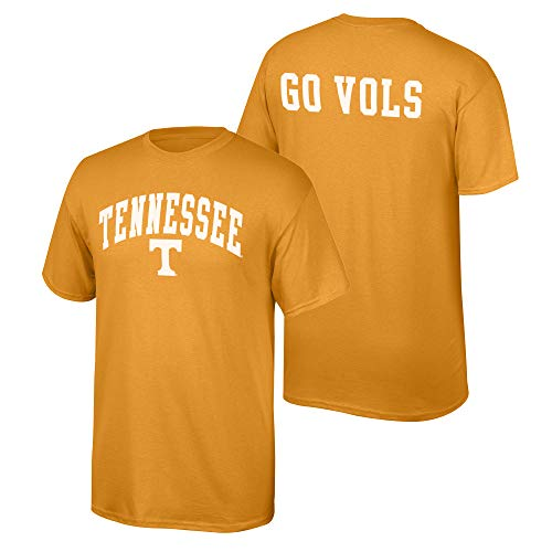 Elite Fan Shop NCAA Men's Tennessee Volunteers T Shirt Team Color Back Tennessee Volunteers Orange Large