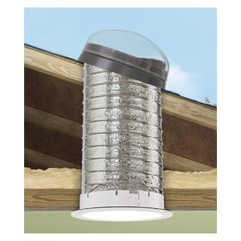 12-3//4L X 32-1//4H Acrylic Dome Velux Tmf0140000 Flex Pitch Flashing Sun Tunnel