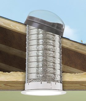 Velux Tmf0140000 Flex Pitch Flashing Sun Tunnel Acrylic Dome 123/4quotL X 321/4quotH