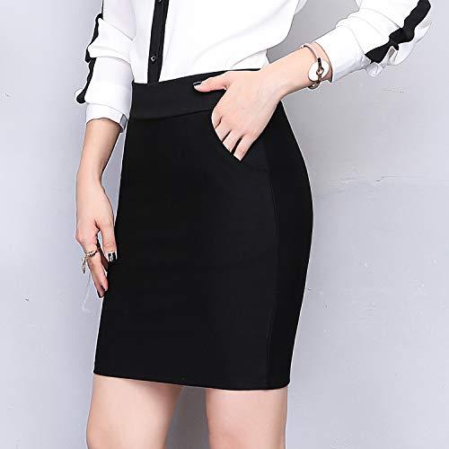 Haute Dissa Mini Jupe Femme Crayon Ca1116 Noir Taille wqq1HXrE