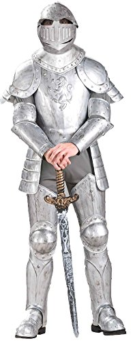 Knight In Shining Armour Adult Costume Halloween