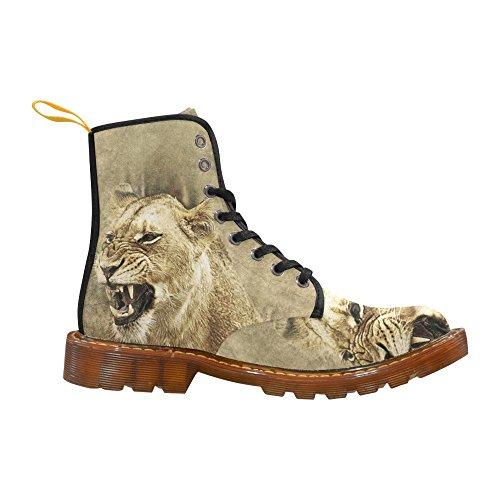 D-story Shoes Lioness Lace Up Martin Boots Per Le Donne