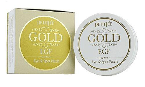 Petitfee Gold EGF Eye & Spot Kollagen-Augenpatches für Augen und Gesicht, mit Goldpulver, für 60Behandlungen BabyAndHomeStores 025779263