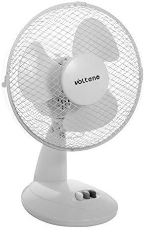 volteno Ventilador de mesa de 21 W/230 V oscilante regulable para ...