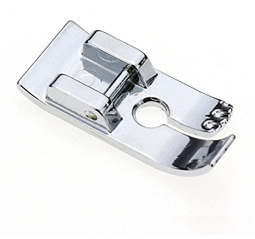"YaDu 1/4"" Straight Stitch Snap-On Foot Sewing Machine Presser Foot for Brother Singer Juki Janome Babylock Kenmore and More Low Shank Sewing Machines"