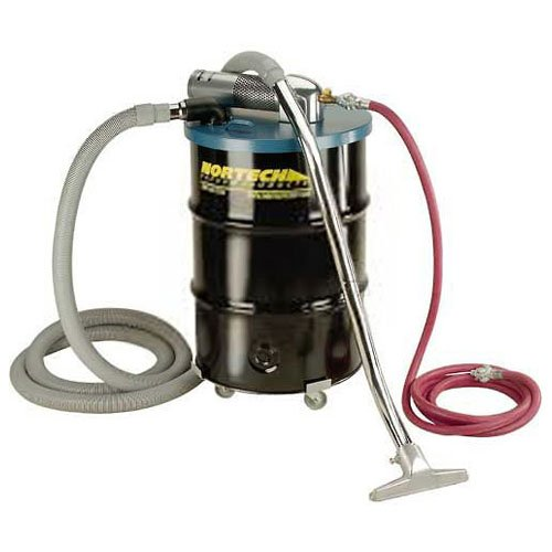 Nortech N551DC D Vacuum Unit with 1.5-Inch Inlet and Attachment Kit, 55-Gallon