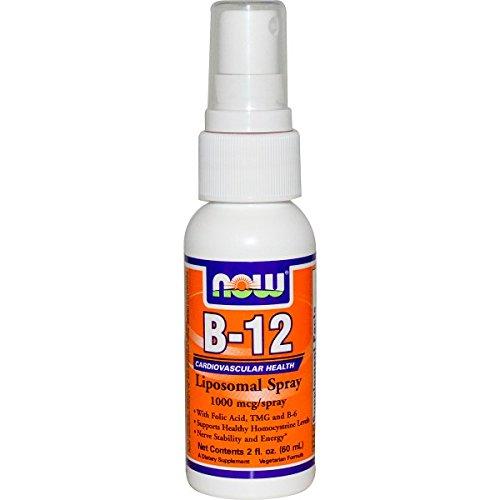 NOW Foods - ビタミンB12 LipoSpray - 2ポンド B005P0FN66